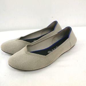 ROTHY'S flax Birdseye round toe ballet flats